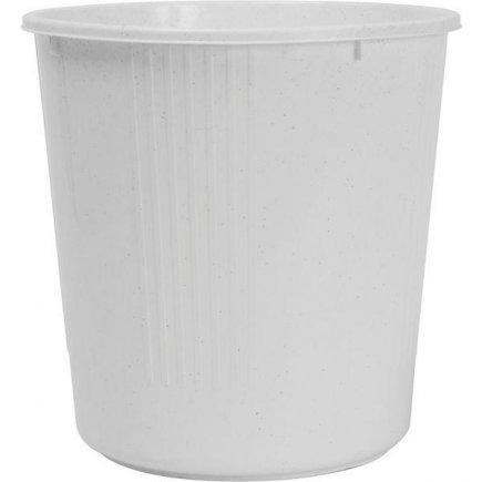 Koš na papír plastový 10 l, bílý