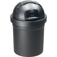 Odpadkový koš rolovací víko Rotho Roll Bob 10 l, černý