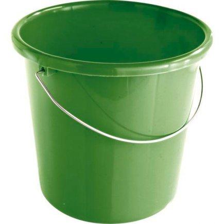 Kbelík plastový 5 l Gastro, zelená