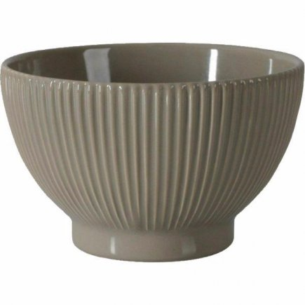 Miska kulatá, keramika, tmavě šedá, 0,7 l GASTRO 14,5 cm