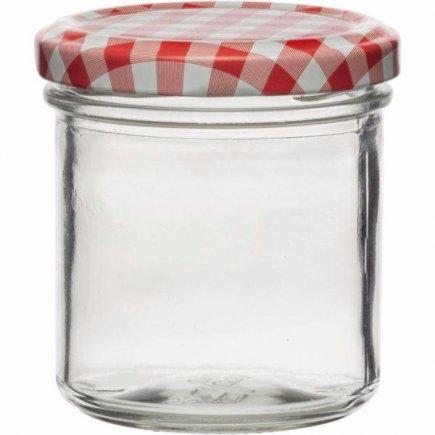 Zavařovací sklenice 167 ml, víčko káry, Gastro