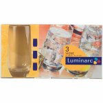 Sada 3 sklenic na long drink Luminarc Vigne 330 ml