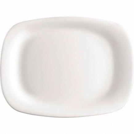 Mělký talíř Bormioli Rocco Parma 34x24 cm hranatý