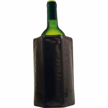 Chladič na víno Vacu Vin Aktiv, černý