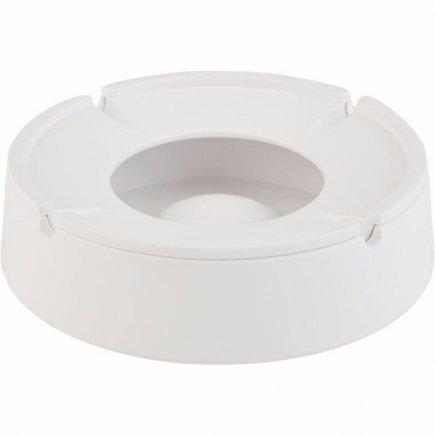 Popelník do větru APS, 14,5 cm, melamin, bílý
