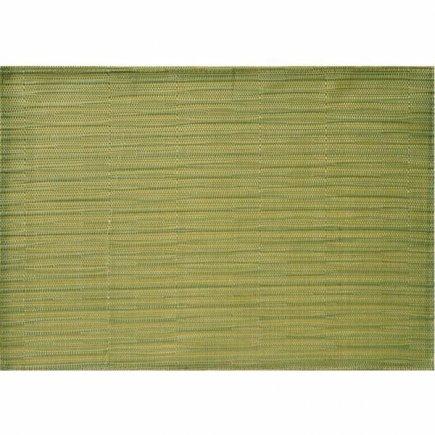 Prostírání PVC APS 45x33 cm, zelené, úzké pásky