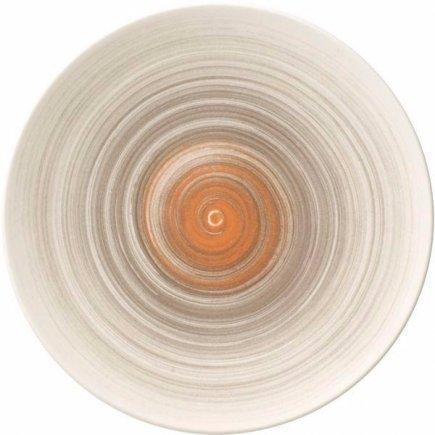 Mělký talíř Villeroy & Boch Amarah 21 cm, tmavošedý