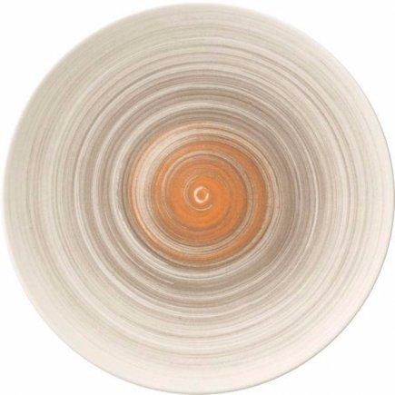Mělký talíř Villeroy & Boch Amarah 25 cm, tmavošedý