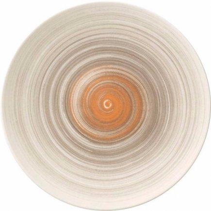 Mělký talíř Villeroy & Boch Amarah 29 cm, tmavošedý