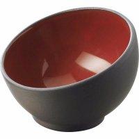Miska na dip Revol 7,5 cm, černočervená