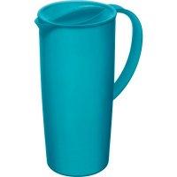 Džbán s víkem plastový Rotho Caruba 1,2 l modrý