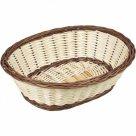 Servírovací košík na pečivo Gastro 24x19 cm, oválný