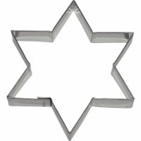 Vykrajovátko na sušenky hvězda 11x9,5 cm