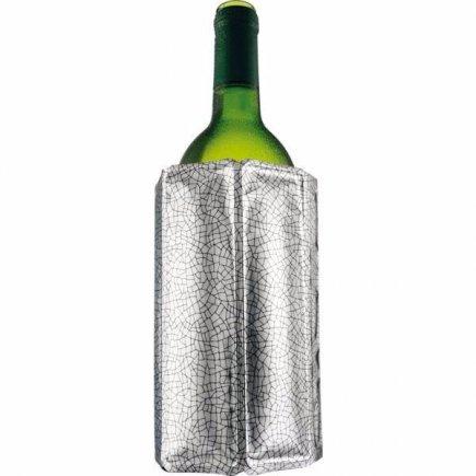 Chladič na víno Vacu Vin Aktiv, stříbrný