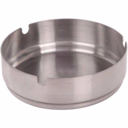 Popelník chrom nerezová ocel 10 cm