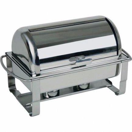Chafing dish na hořlavou pastu GN 1/1 APS Caterer Pro 9 l, nerez, rolltop víko