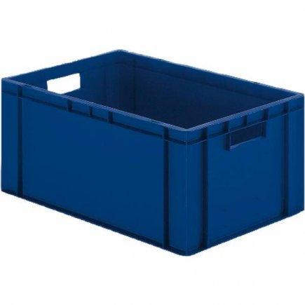 Přepravka plast 60x40x21 cm, modrá