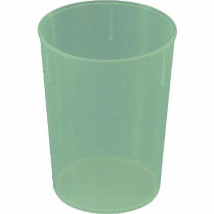 Kelímek plast Waca 250 ml, zelený