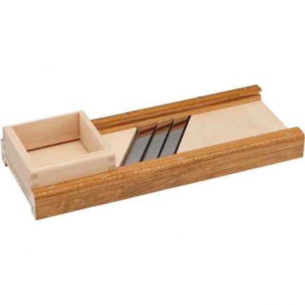 Struhadlo na zelí Gastro Multiplex 40x15 cm, 3 nože