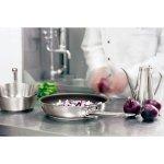 Rendlík nerez Paderno Grand Gourmet 1000 24 cm, indukce, nízký