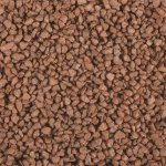 Dekorační barevný granulát v dóze 2-3 mm, hnědý