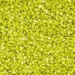 Dekorační barevný granulát v dóze 2-3 mm, zelené jablko