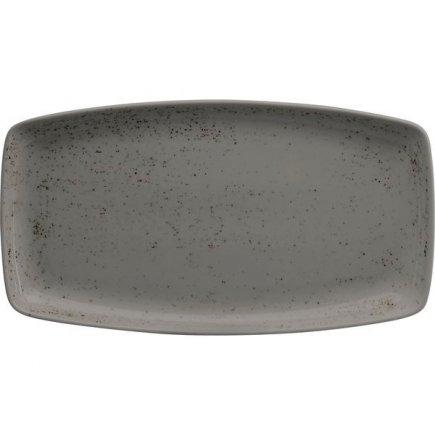 Talíř na hamburgery Schönwald Pottery 36x20 cm, světle šedý
