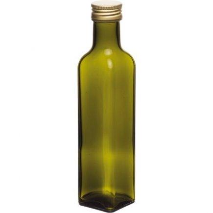 Láhev Marasca 250 ml, šroubovací uzávěr, zelená