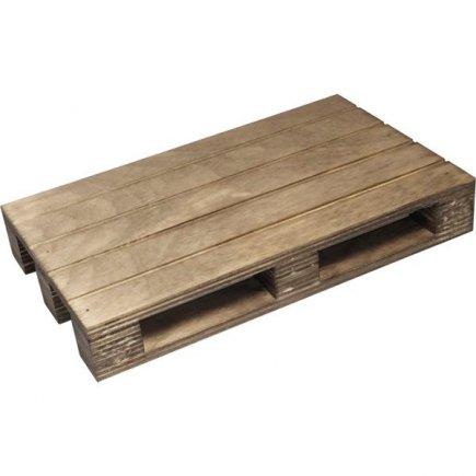 Servírovací dřevěné prkénko paleta Vintage 20x12 cm