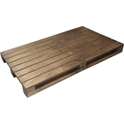 Servírovací dřevěné prkénko paleta Vintage 30x20 cm
