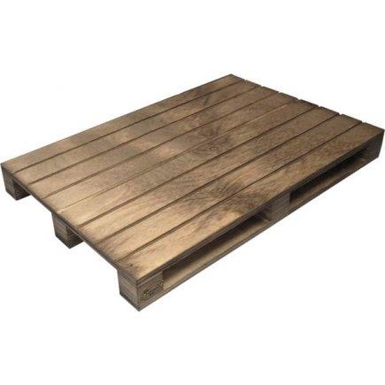 Servírovací dřevěné prkénko paleta Vintage 35x20 cm