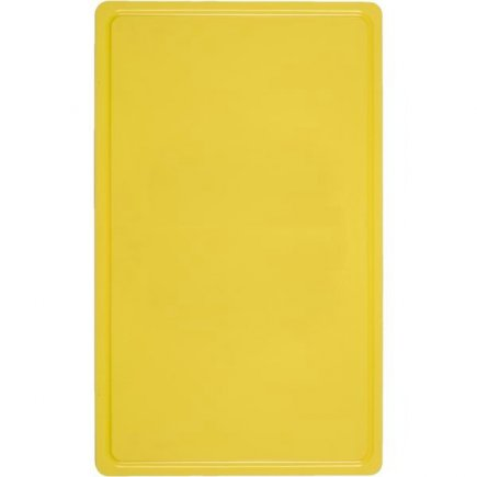 Prkénko s drážkou SalleMa Flexibel 53x32,5 cm, žluté