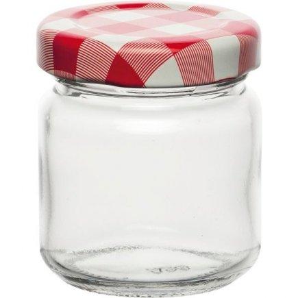 Zavařovací sklenice Weck 53 ml, víčko káry
