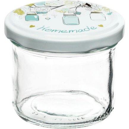 Zavařovací sklenice Gastro 120 ml 6 ks, víčko Homemade