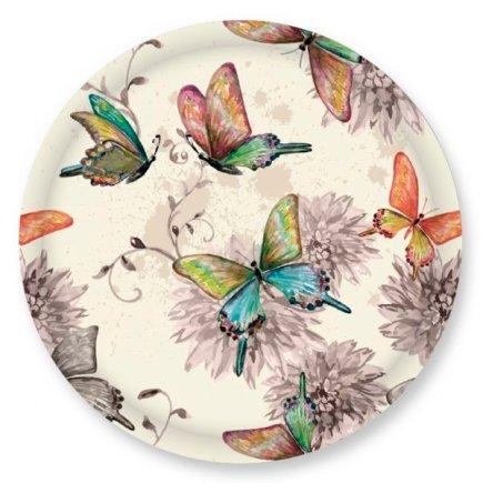 Šroubovací víčko Gastro 66 mm, dekor motýlci