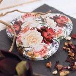 Šroubovací víčko Gastro 66 mm, dekor růže