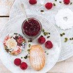 Zavařovací sklenice Gastro 167 ml, víčko růže