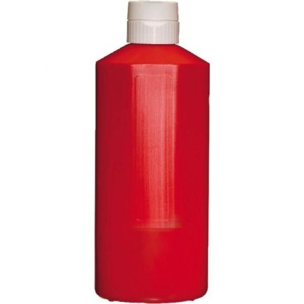 Dávkovací mačkací láhev APS 1100 ml, červená