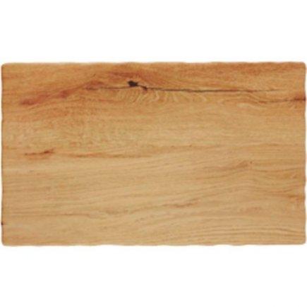 Podnos servírovací melamin APS 26,5x16,2 cm, dřevěný vzhled