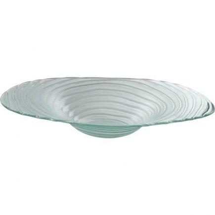 Mísa skleněná Gastro 40 cm, rýhovaná