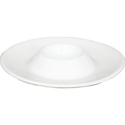 Stojánek na vajíčko Gastro Trend 13 cm, bílý