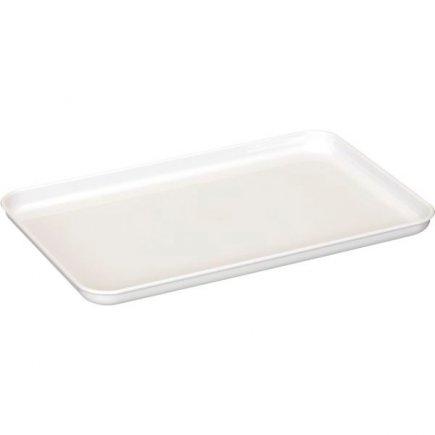 Tác plastový Gastro 30x18 cm, bílý