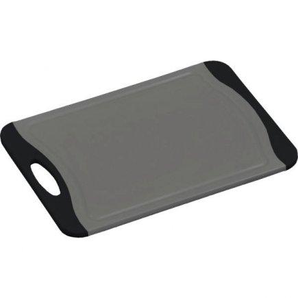 Prkénko krájecí plastové Kesper 29x20 cm, šedé