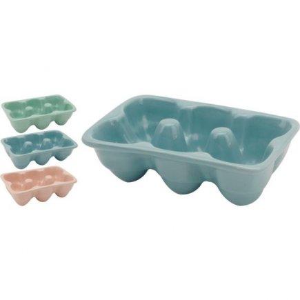 Zásobník na vajíčka pro 6 ks, různé barvy