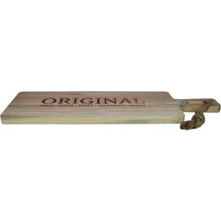 Prkénko akátové dřevo Gusta 50,6x15,2 cm