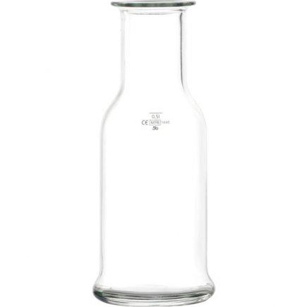 Karafa skleněná Stölzle Oberglas Purity 500 ml cejch 0,5 l