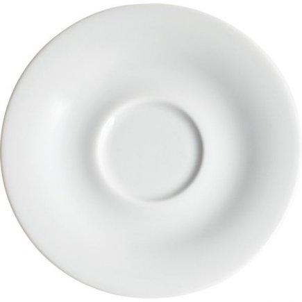 Podšálek na cappuccino Kahla Pronto 14,6 cm, bílý