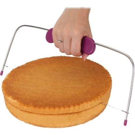Strunový kráječ na dort Gastro 33 cm