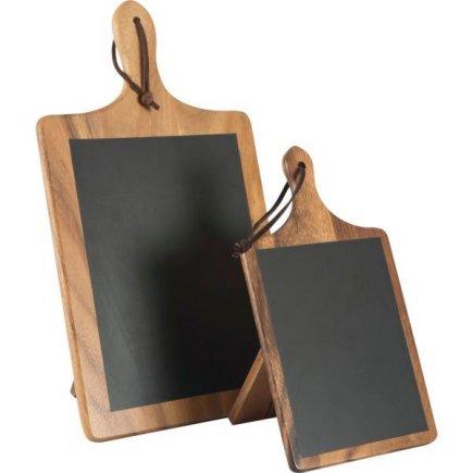 Stojánek na stůl dřevěný 15x10x26,8 cm