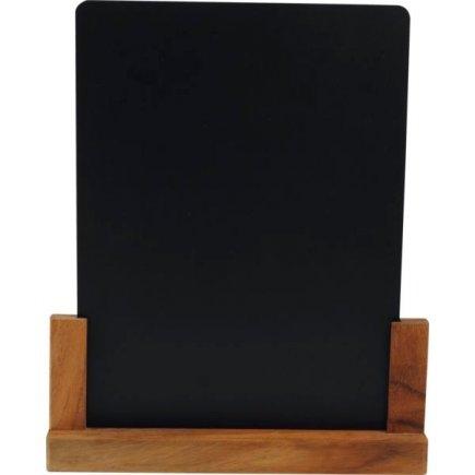 Stojánek na stůl akátové dřevo 27x4,5x32,7 cm, velikost A4